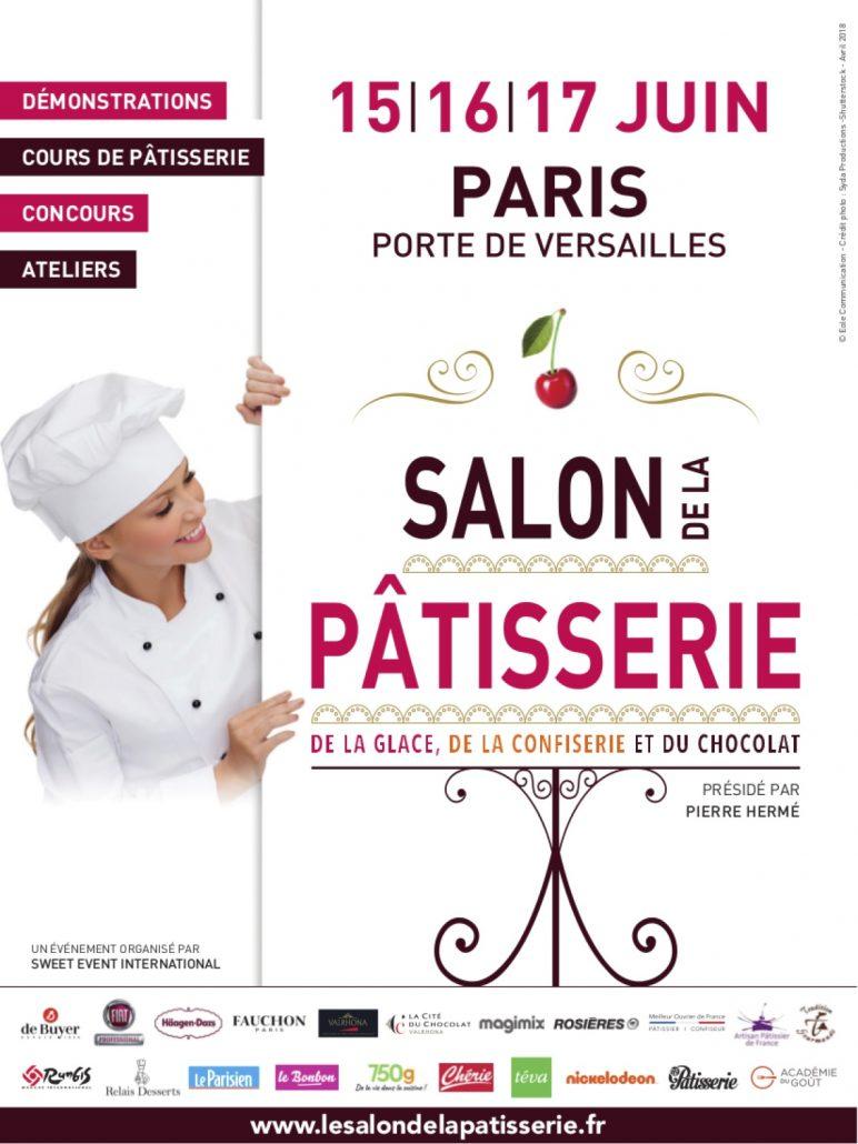 affiche salon de la pâtisserie
