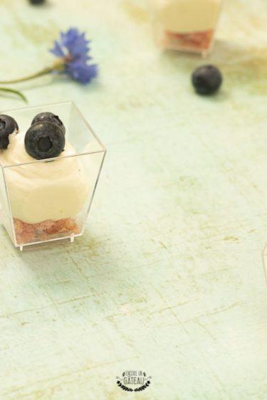 verrines de cheesecake sans cuisson