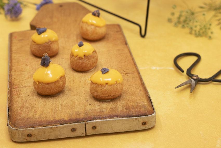 choux au citron recette détaillée
