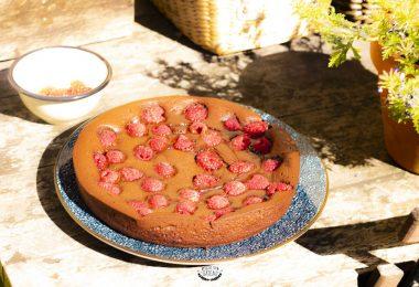 comment faire un fondant chocolat framboises ?