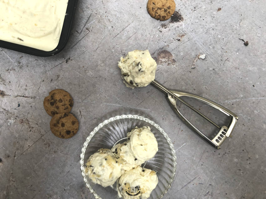 glace cookie dough maison