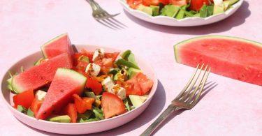 salade pastèque crudités