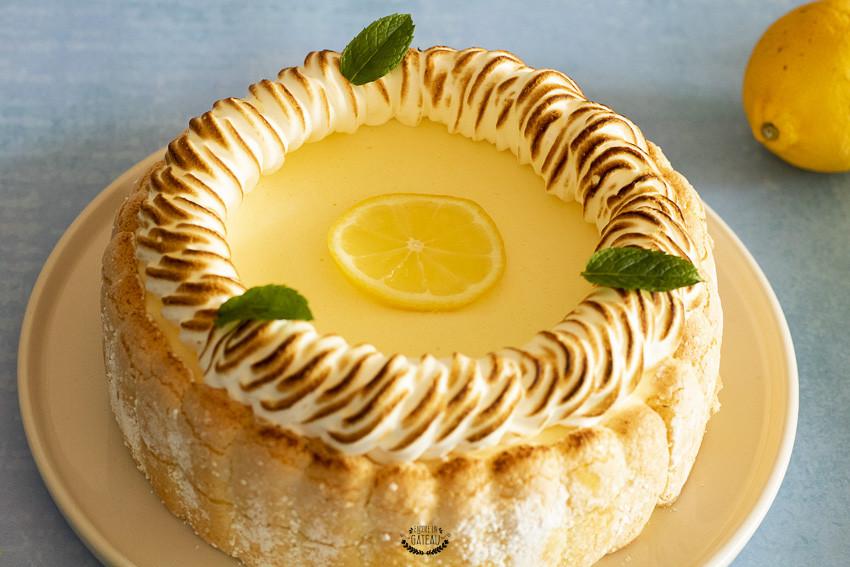 recette détaillée charlotte citron meringuée