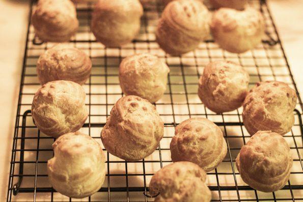 choux cuits tarte chouquettes