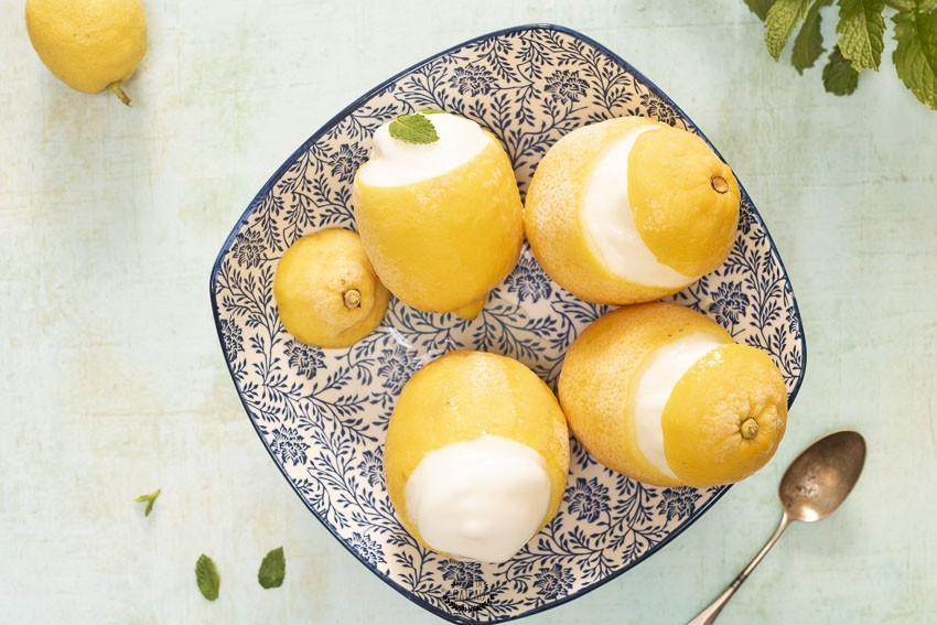 recette facile des citrons givrés maison