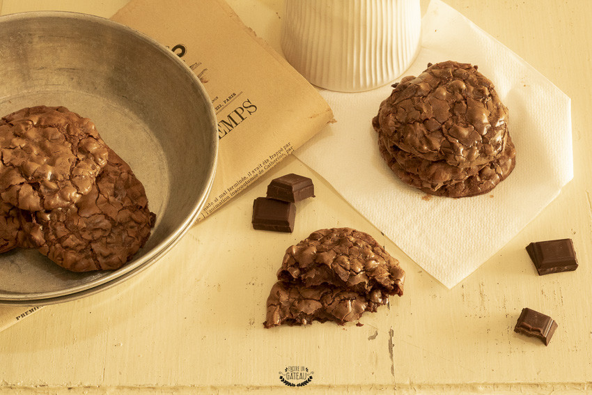 comment faire des cookies brownies ?