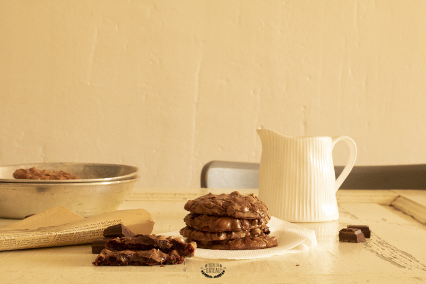faire des cookies brownies