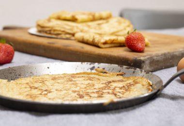 recette détaillée des crêpes de Christophe Michalak