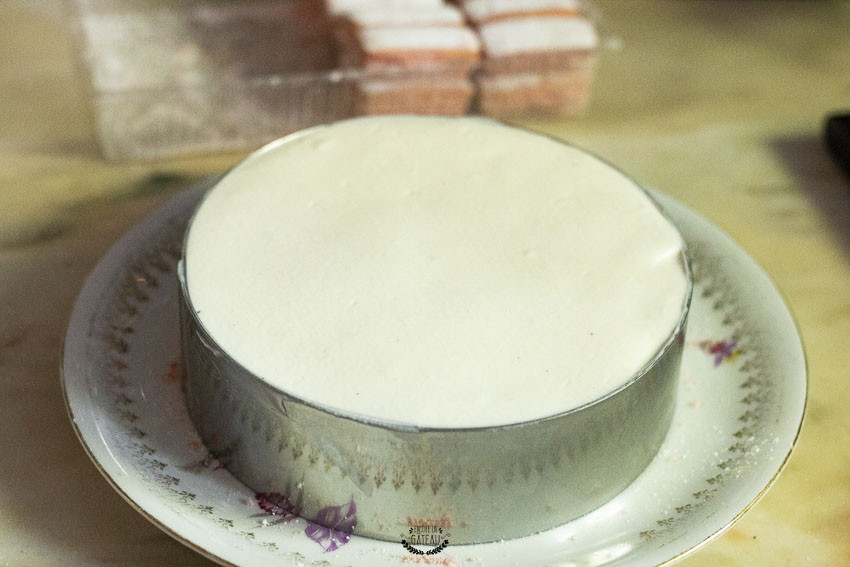 entremets mousse fromage blanc