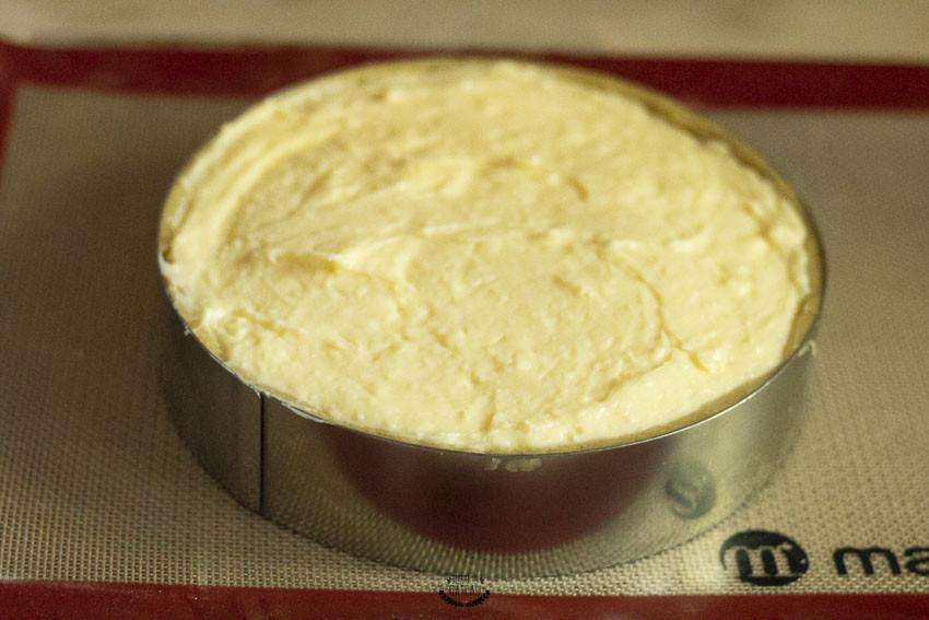 flan parisien coco avant cuisson