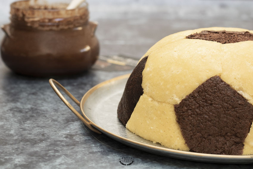 gâteau ballon de foot coupe du monde