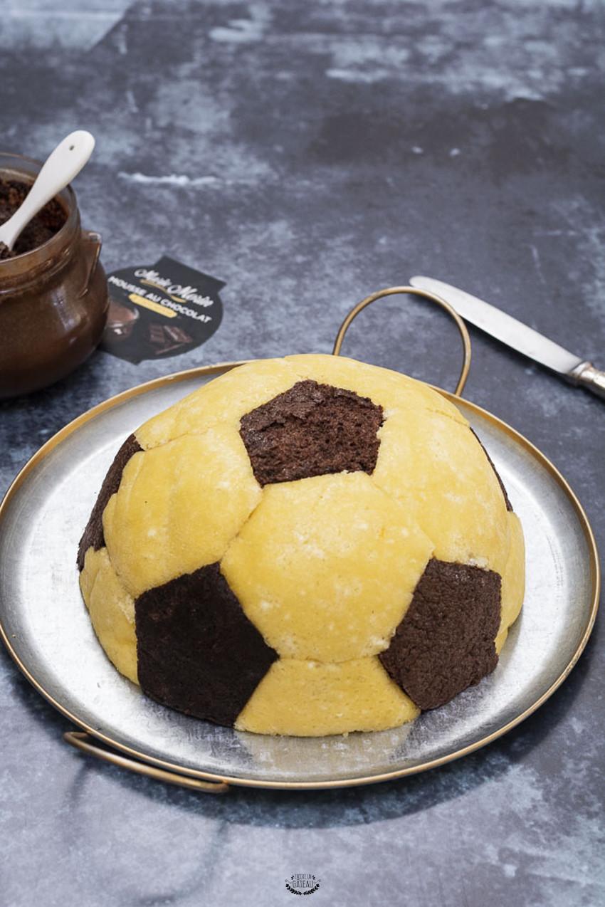 faire un gâteau ballon de foot