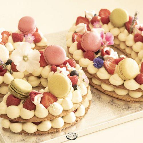 number cake recette en pas à pas
