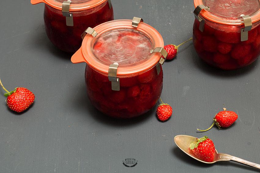 faire de la confiture de fraises