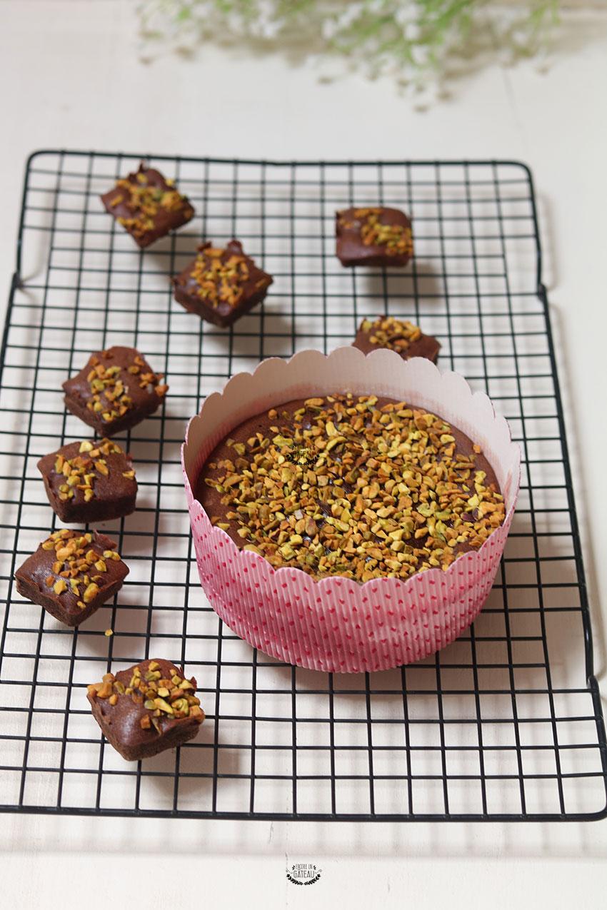 recette du fondant chocolat pistache