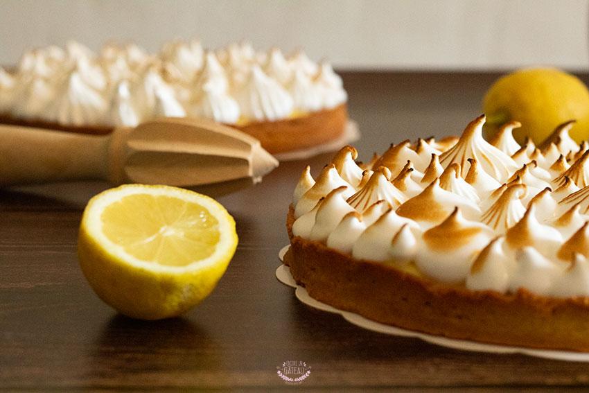 tarte citron meringue italienne