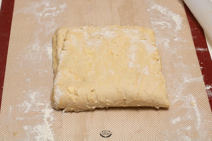 tour simple pâte feuilletée rapide