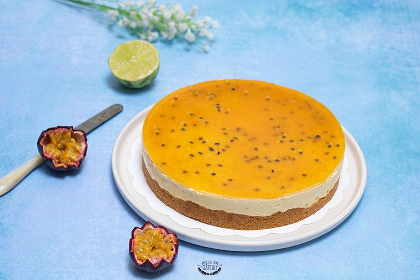 cheesecake mangue passion sans cuisson