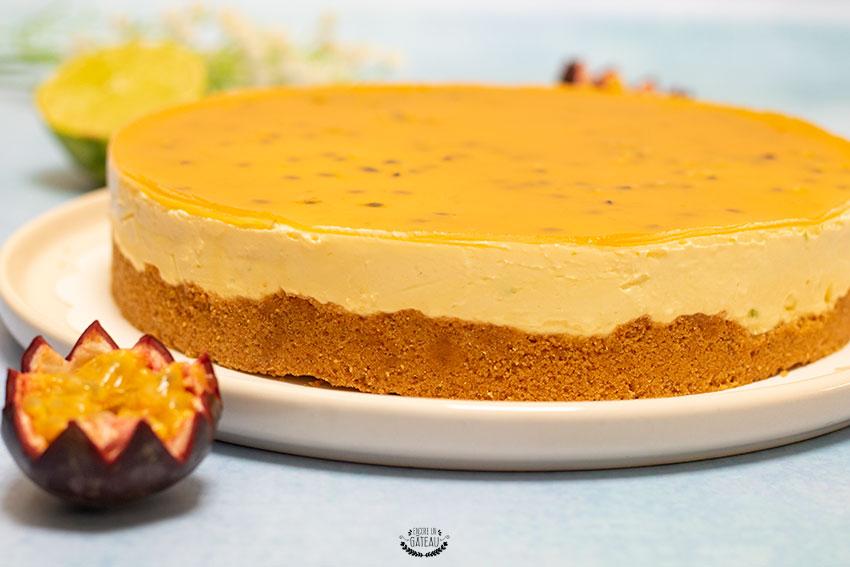 recette de cheesecake mangue passion