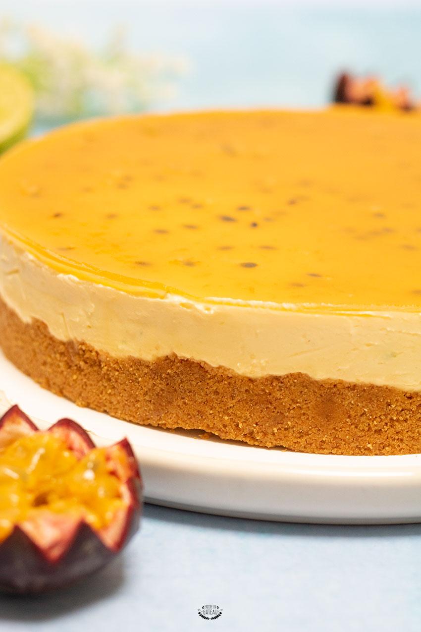 réussir le cheesecake mangue passion