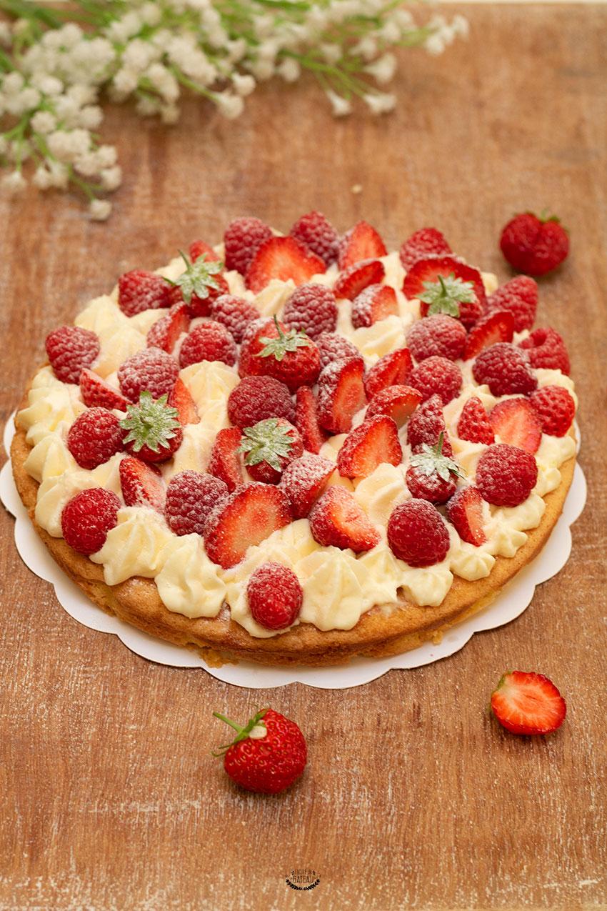 comment faire un fantastik fraises framboises façon michalak ?