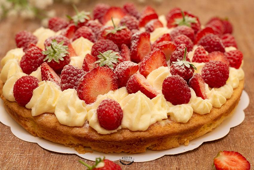 recette fantastik fraises framboises michalak