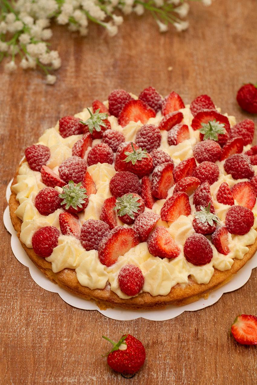 recette du fantastik fraises framboises