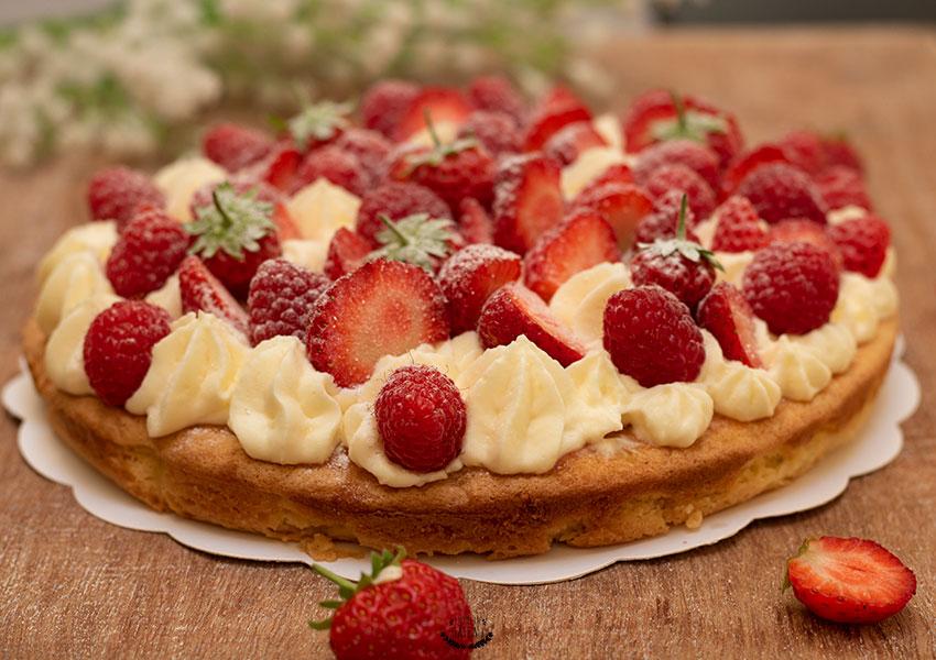 recette du fantastik fraises framboises façon michalak
