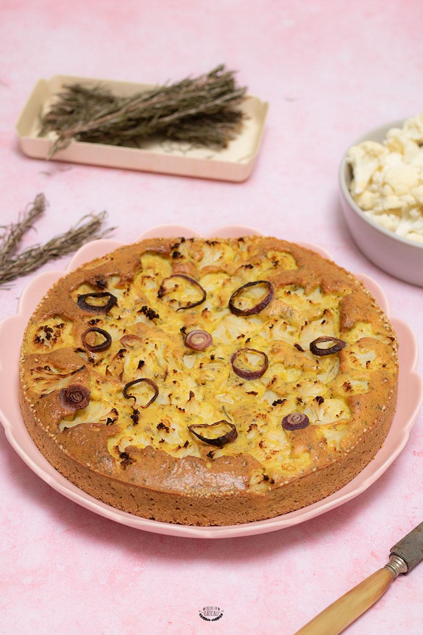 gâteau de chou fleur