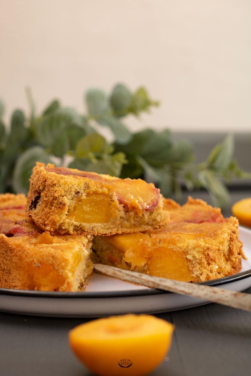 gâteau facile aux prunes