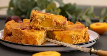 recette facile de gâteau aux prunes