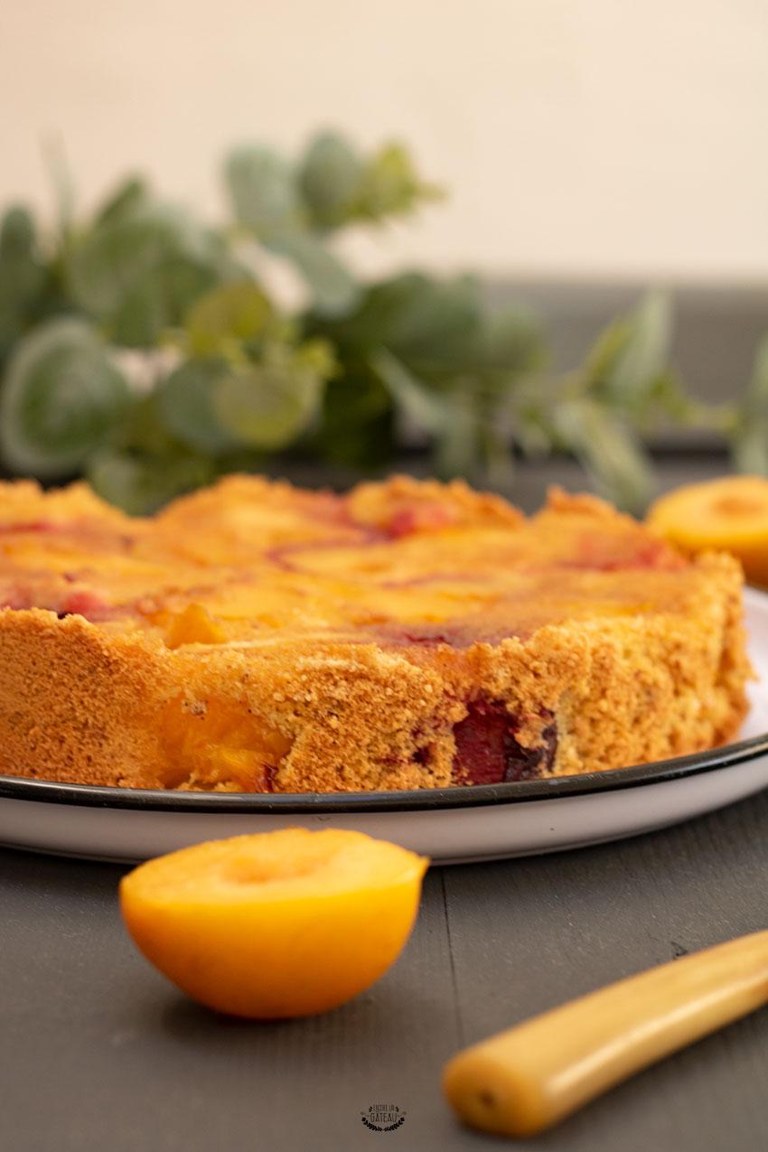 recette de gâteau aux prunes