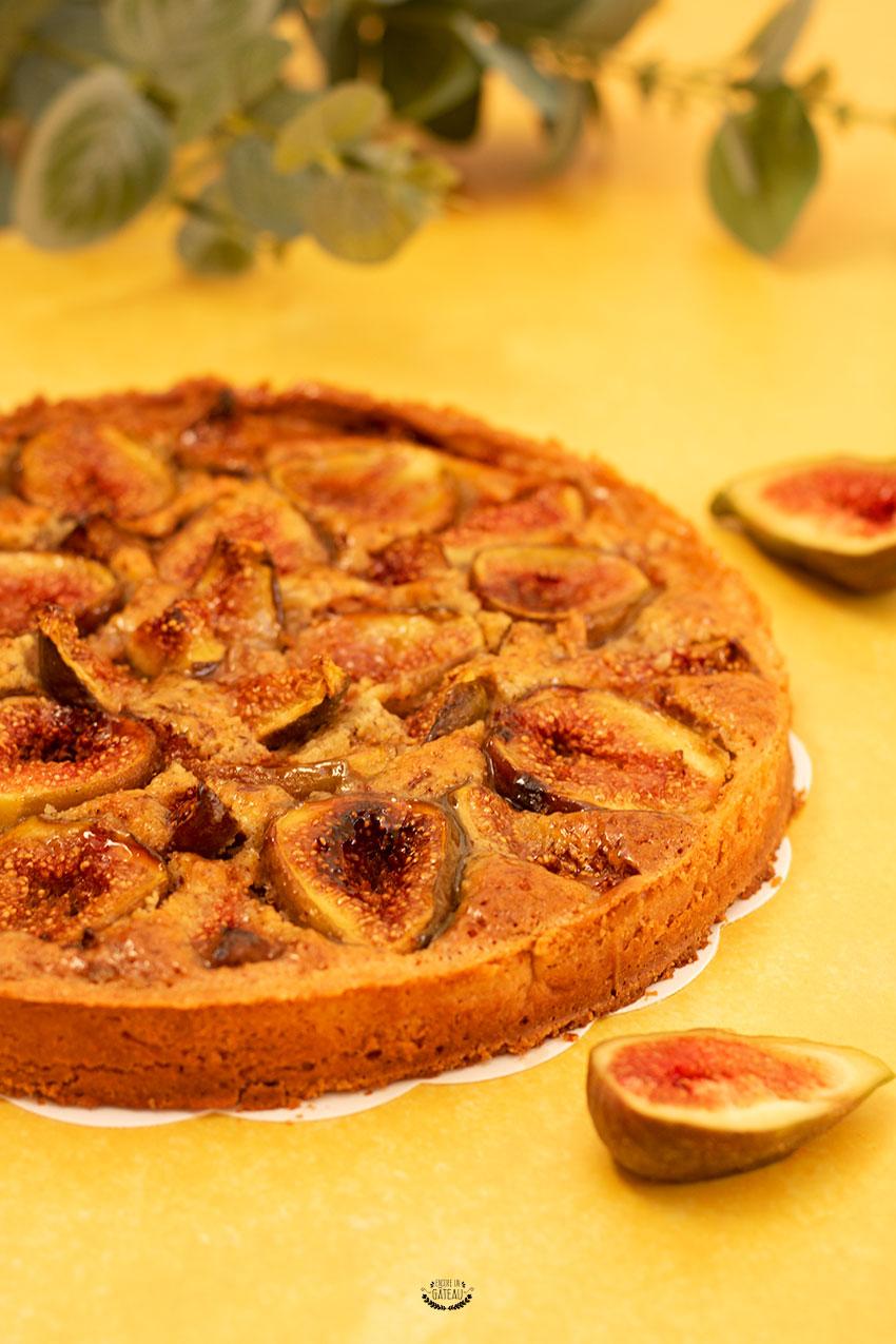 tarte aux figues et aux noisettes