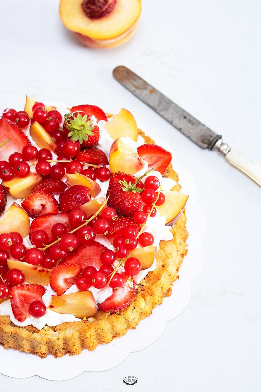 recette facile de tarte aux fruits frais