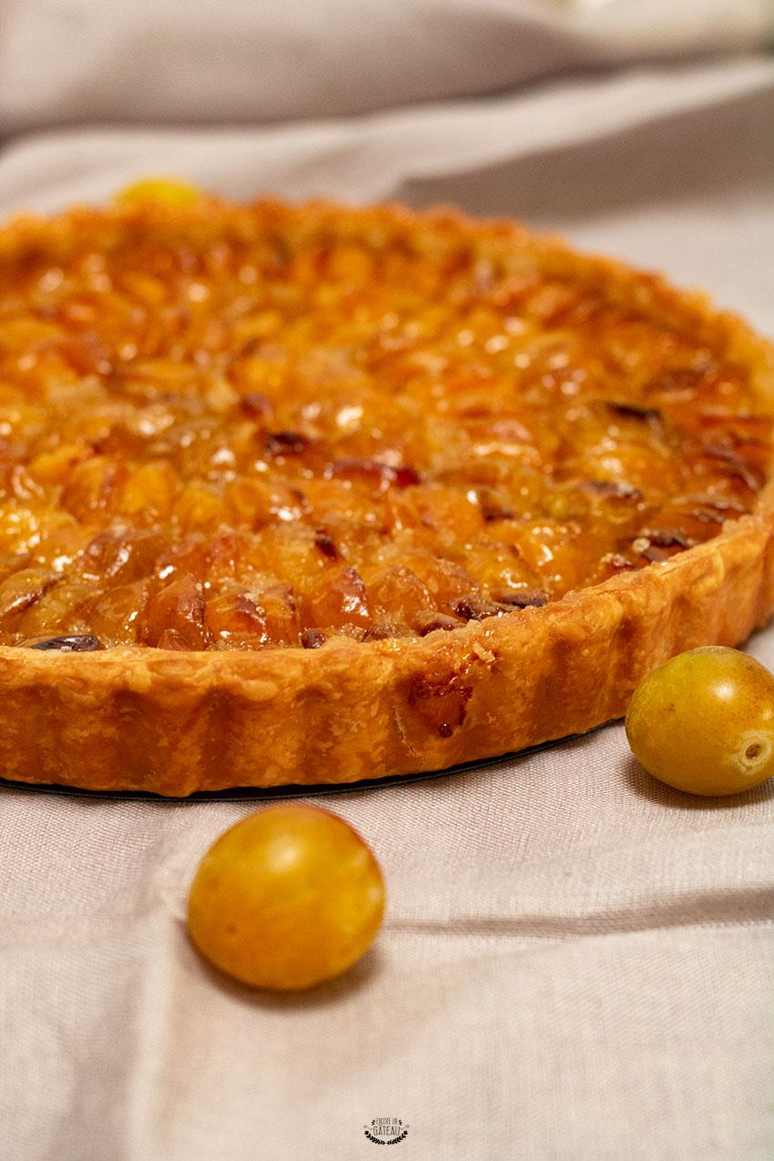 comment faire une tarte aux mirabelles ?