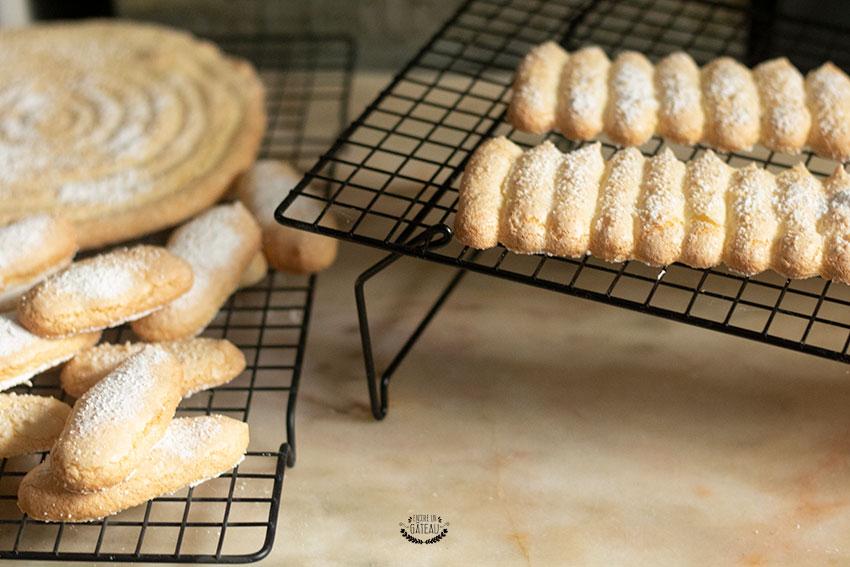biscuit cuiller après cuisson