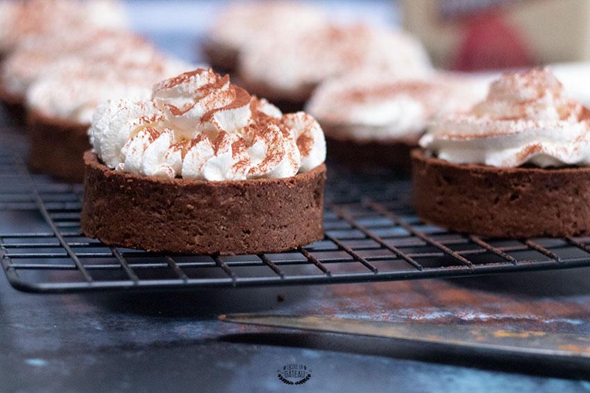 faire des tartelettes chocolat liégeois