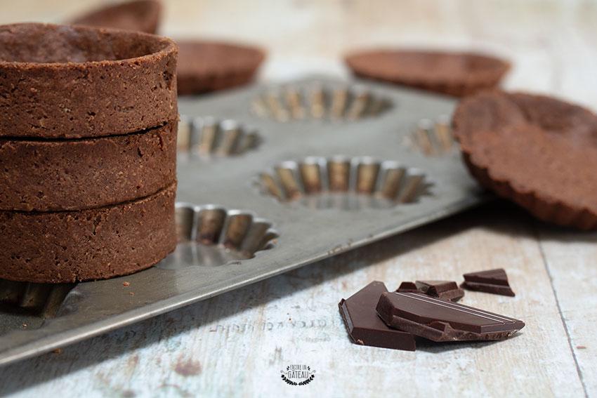 faire une pâte sucrée au chocolat