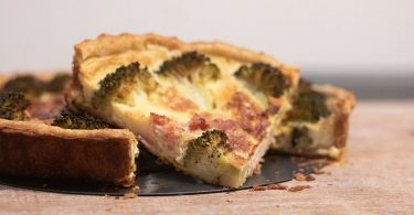 faire une quiche au brocoli