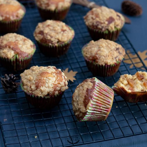 muffins américains pomme cannelle