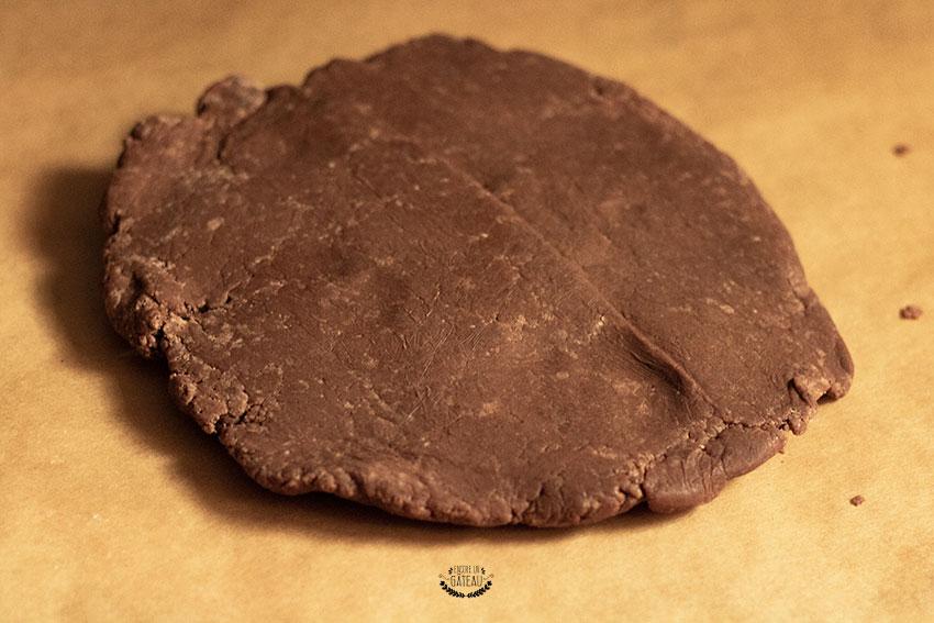 pâte sucrée au chocolat