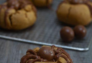 recette biscuits araignées