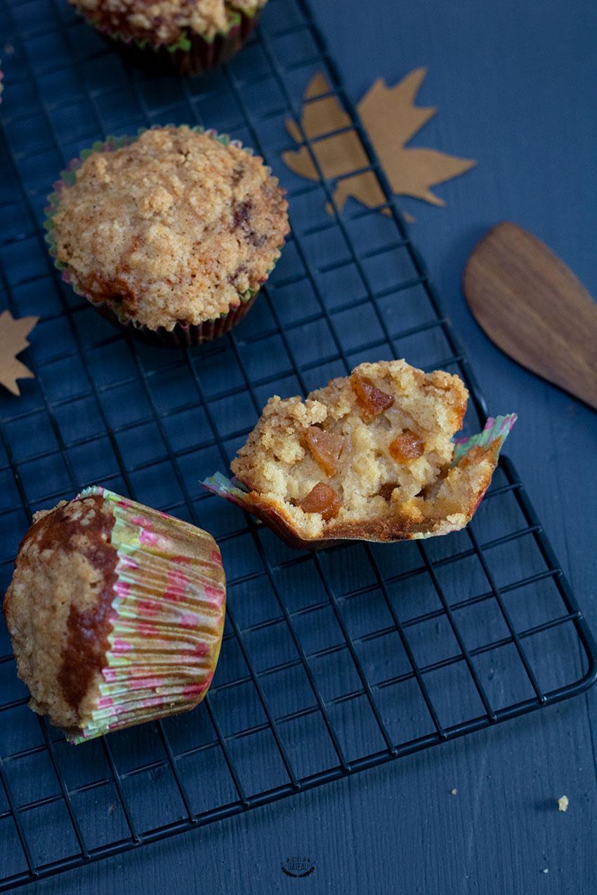 recette de muffins pomme cannelle