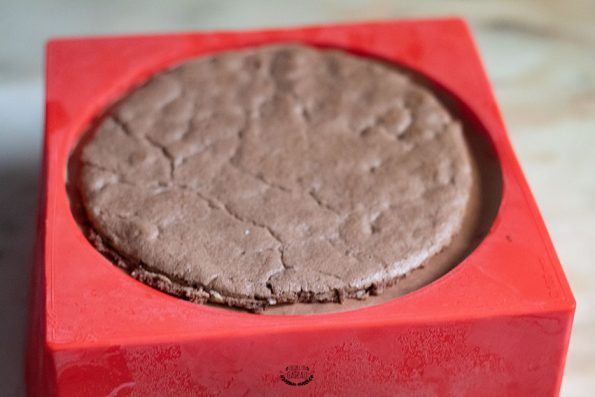 trois chocolats avant démoulage