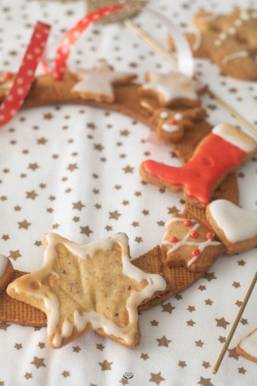 biscuits avent couronne noël