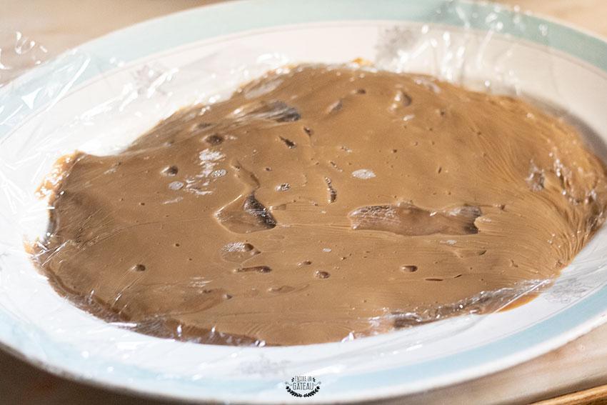 crème pâtissière bûche café