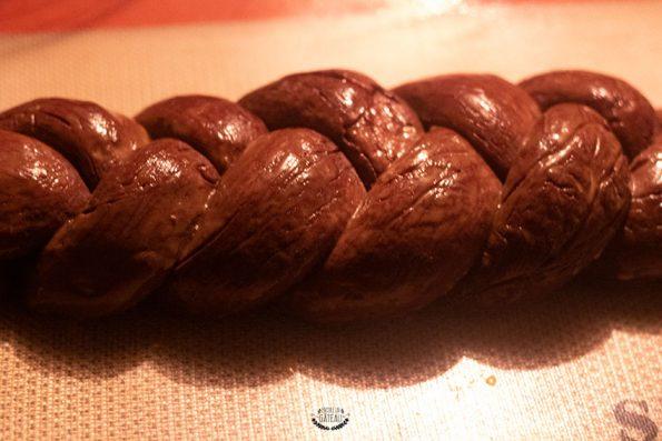 dorure brioche au chocolat