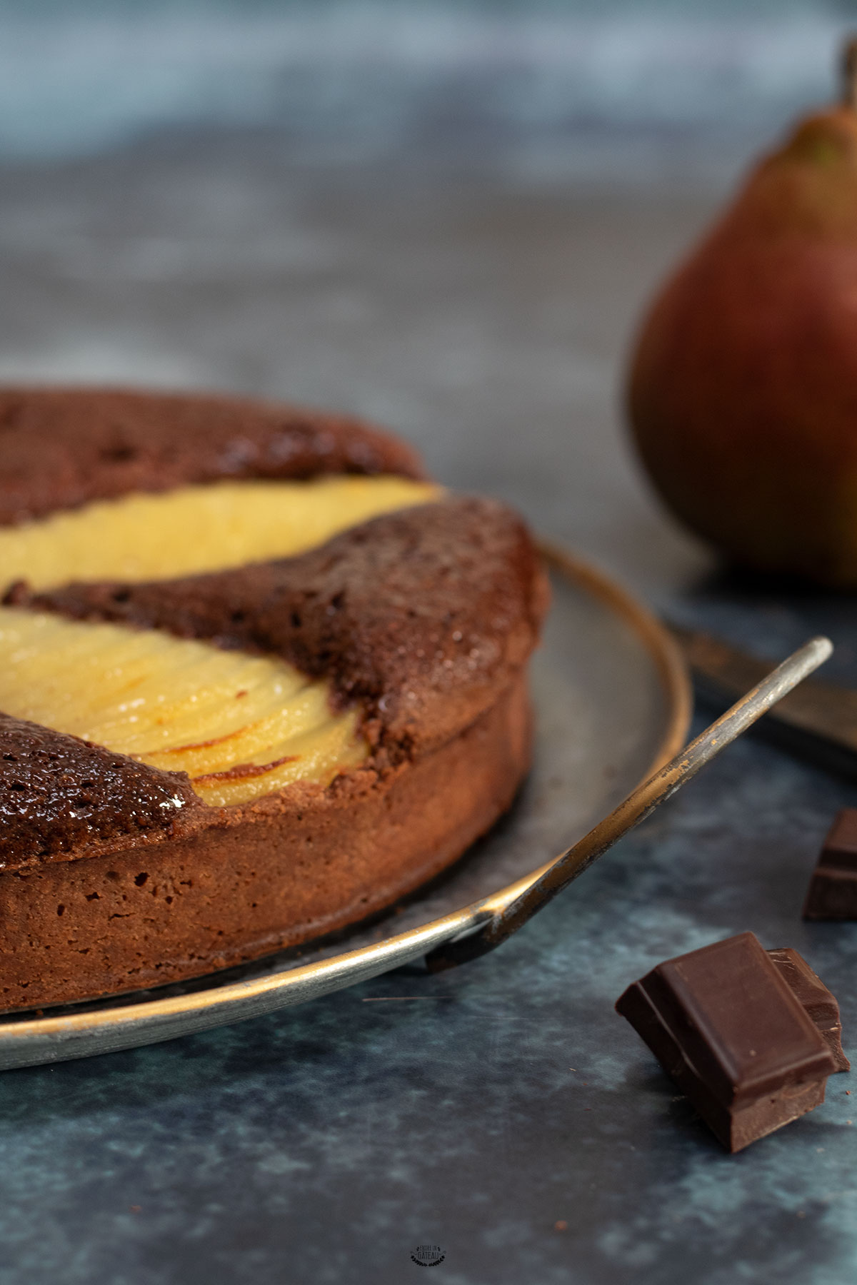 faire tarte poire chocolat