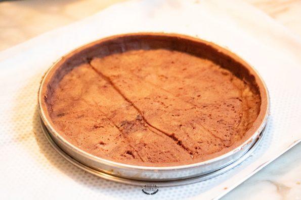 fond tarte chocolat meringuée