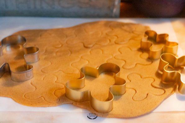 gingerbread avant cuisson